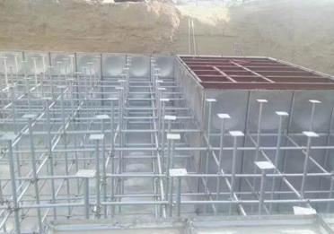 呼和浩特地埋式——玻璃钢水箱