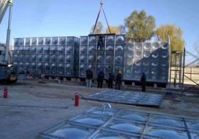 镀锌板水箱——呼和浩特玻璃钢水箱